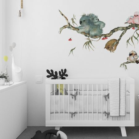 Aussie Friends Branch Wall Sticker