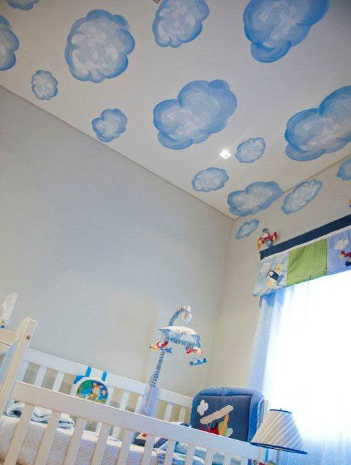 Watercolour Cloud Wall Stickers