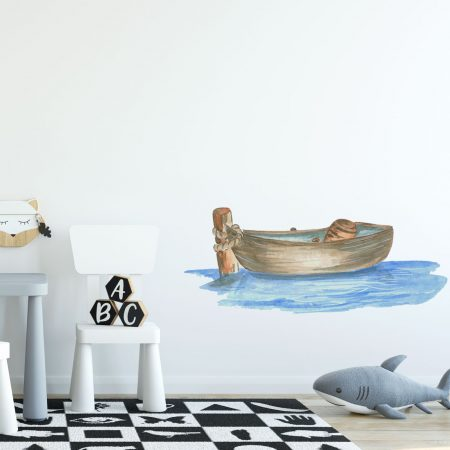 Fishing Boat Wall Sticker