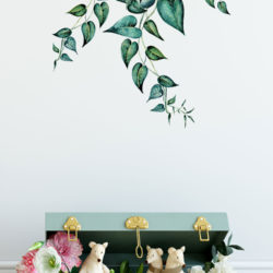 Greenery Ivy Leaf Wall Sticker